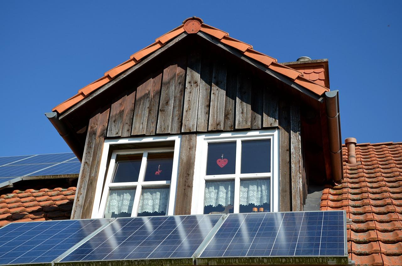 panneau photovoltaïque toit